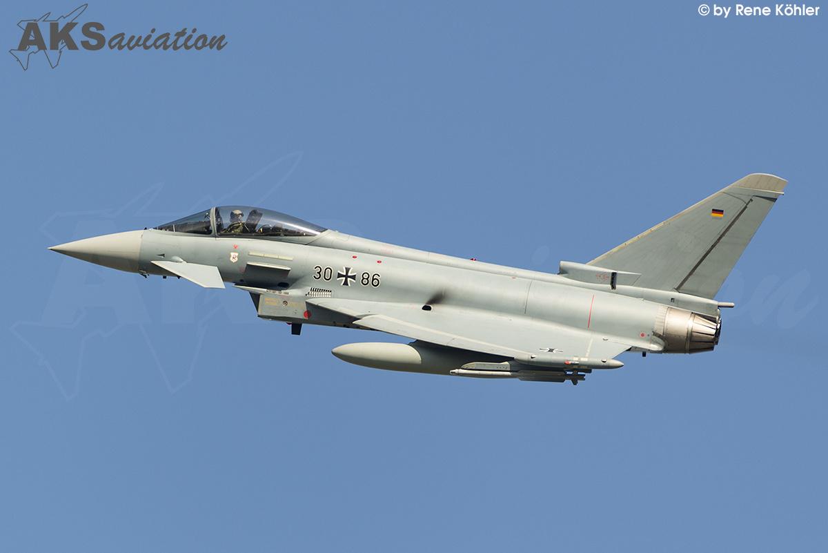 Eurofighter Typhoon 30+86 001 aks