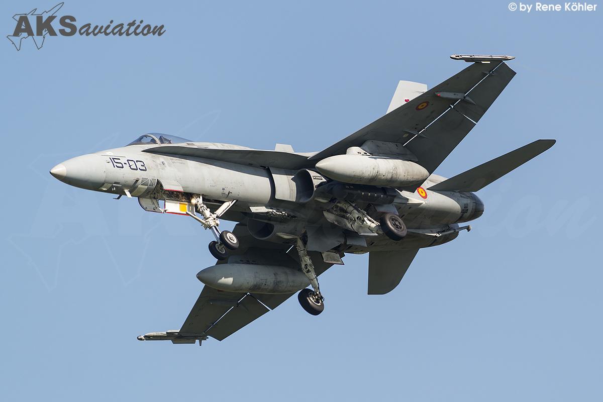 EF-18A+ C.15-16 15-03 001 aks