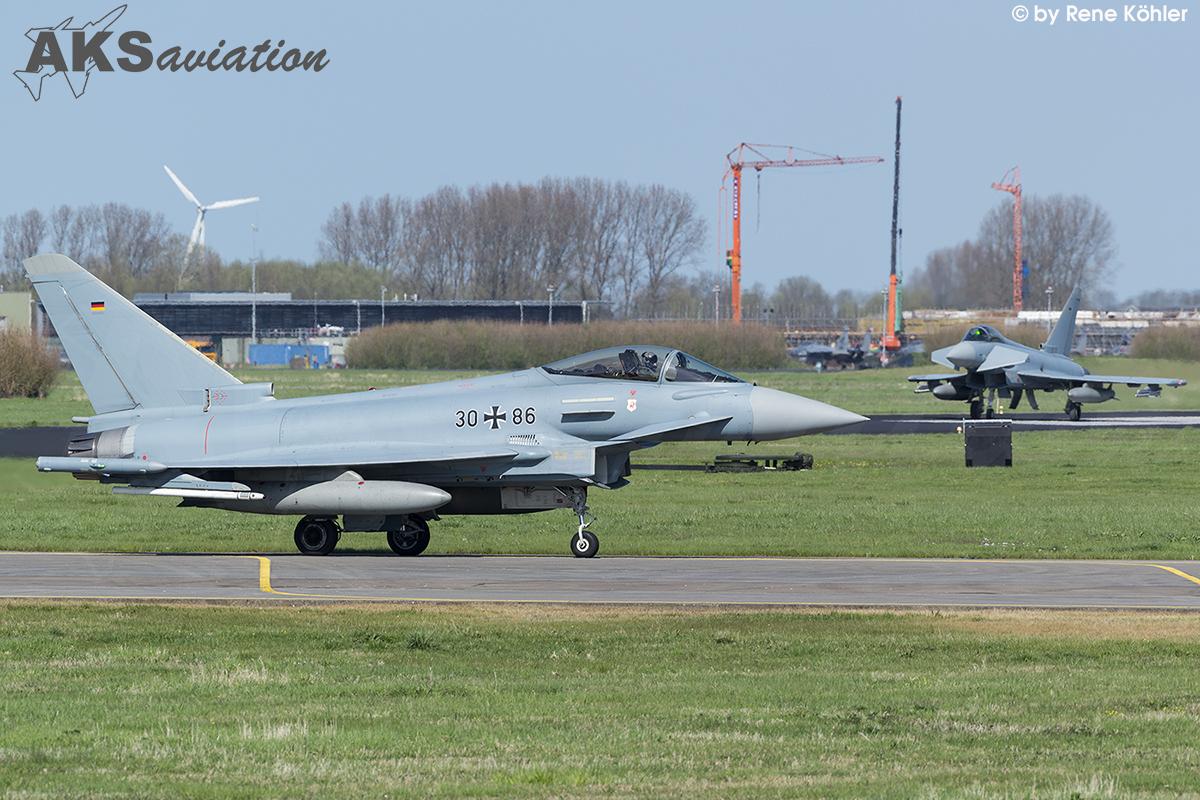 Eurofighter Typhoon 30+86 002 aks