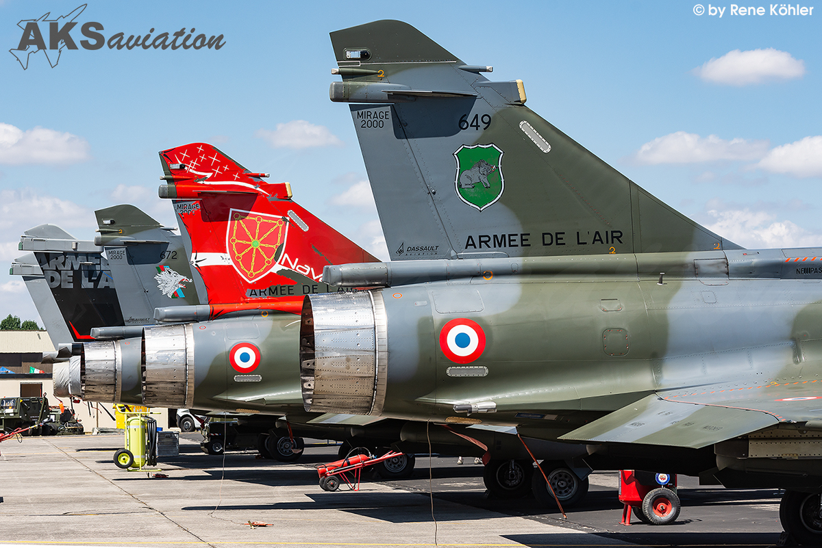 French Air Force Tail 001 aks