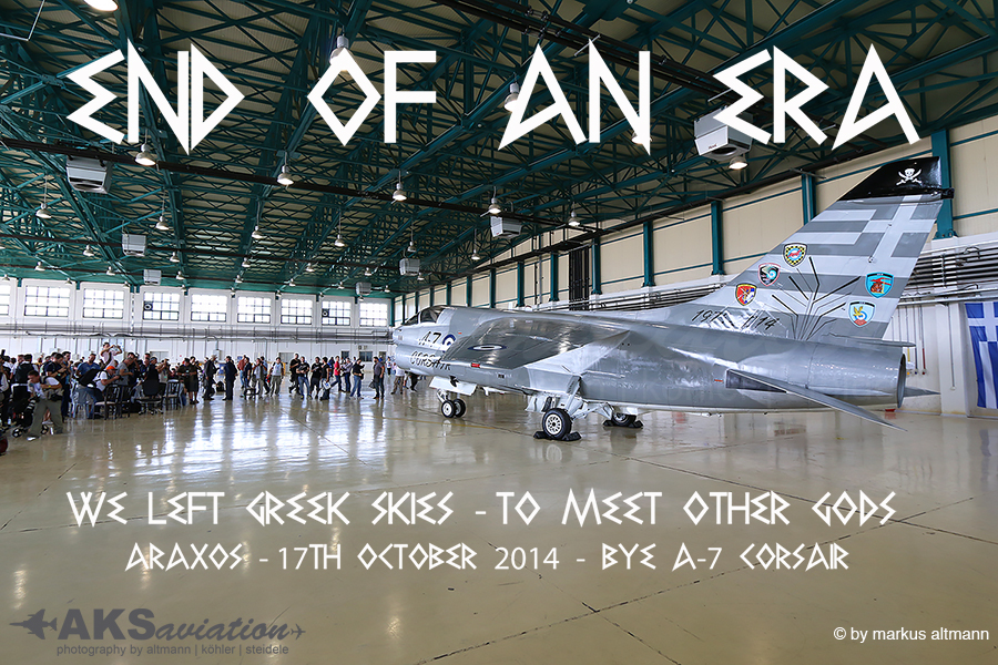 A-7 Corsair II Retirement – Araxos / Greece